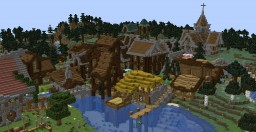 Stronghill Village V.1 (1.13) Minecraft Map & Project