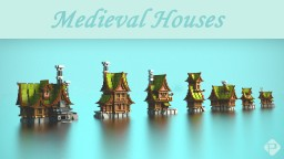 Medieval Houses Bundle Minecraft Map & Project