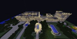 Super Massive Mansion Minecraft Map & Project