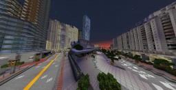 Sony Centre // L Tower Condominiums - Toronto, Ontario, CA. Minecraft Map & Project
