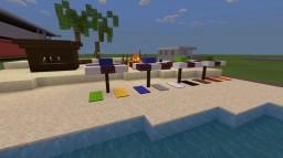 Beach scenery Minecraft Map & Project