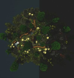"""DeathRun """"The Woods"""" Free Edition Minecraft Map & Project"""