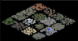 16x Floating island combination Minecraft Map & Project