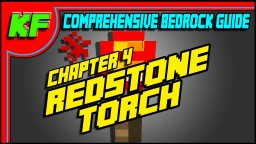 Redstone Torch // Ch4 Bedrock Redstone Guide // Redstone tutorials Minecraft Map & Project