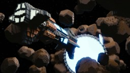 'Outer Space' Minecraft Map & Project