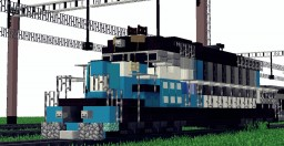 Diesel locomotive EMD SD40-2 Minecraft Map & Project