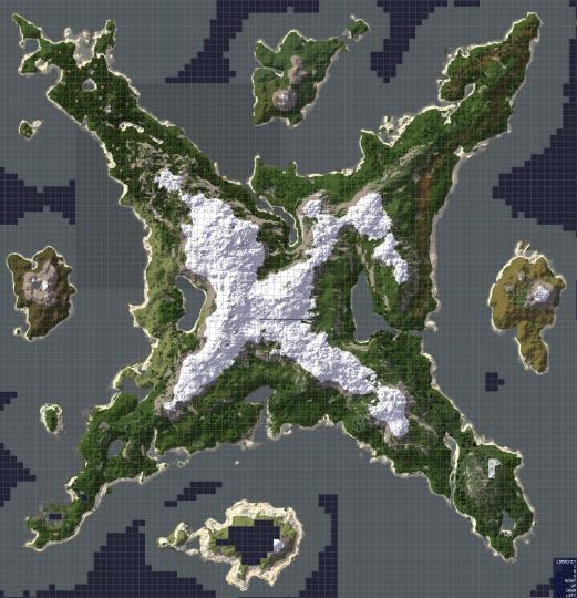 Viking Siege Islands Layout!