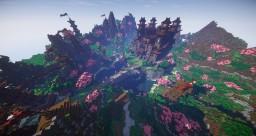 Japanese Village HUB Minecraft Map & Project