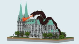 Cathedral & Wyrm Minecraft Map & Project