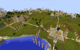 The Valley of Wheat Minecraft Map & Project