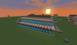 Big Forest Mining Company Item Retrieval System Minecraft Map & Project