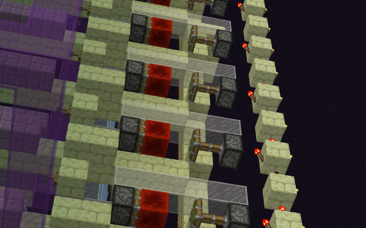 Stacked redstone
