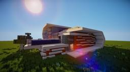 Futuristic House 1 Minecraft Map & Project