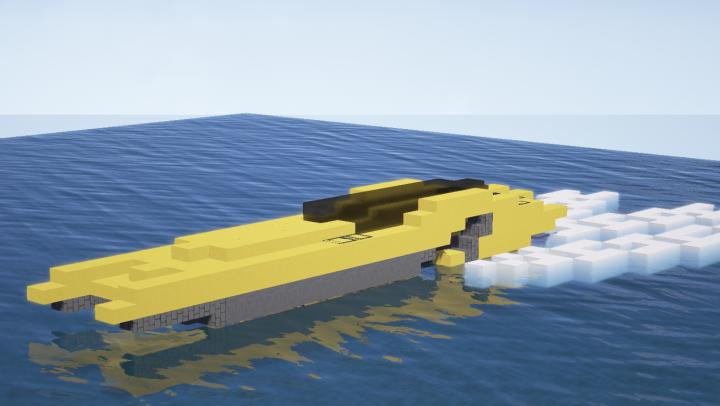 Lamborghini Aventador Speed Boat Lamboat Minecraft Project