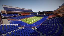 Gillette Stadium   New England Patriots Minecraft Map & Project