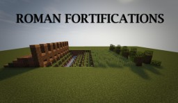 Roman Fortifcations Minecraft Map & Project