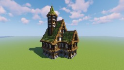 Medieval House -=[By Mirajone]=- Minecraft Map & Project
