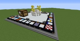 Monopoly in Minecraft (NO COMMANDS) Minecraft Map & Project