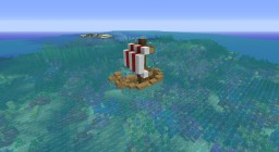 Boat Survival Minecraft Map & Project