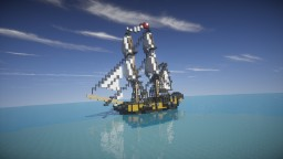 HMS Interceptor | Pirates of the Caribbean (ShipSide) Minecraft Map & Project