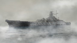 Battleship Bismarck |  1:1 scale German warship Minecraft Map & Project