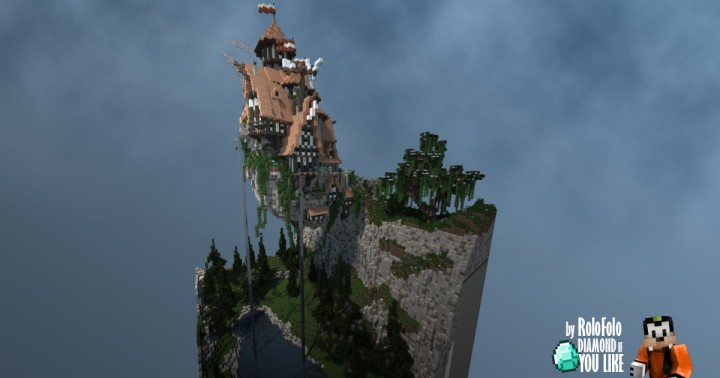 Castle on the Rock - OakAxe Plotspawn 101x101