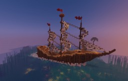 Medieval Cargo Ship ♡ Minecraft Map & Project