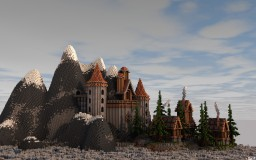 Cliff Castle Project Minecraft Map & Project