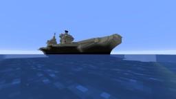 HMS Queen Elizabeth RO8 (BEING UPDATED!) Minecraft Map & Project