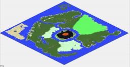 Eldridge Island 10k by 10k Minecraft Map & Project