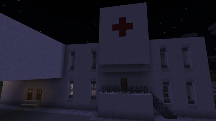 Harrison Memorial Hospital. Rick wakes up here.