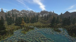 Nordic Landscape with World Painter Minecraft Map & Project