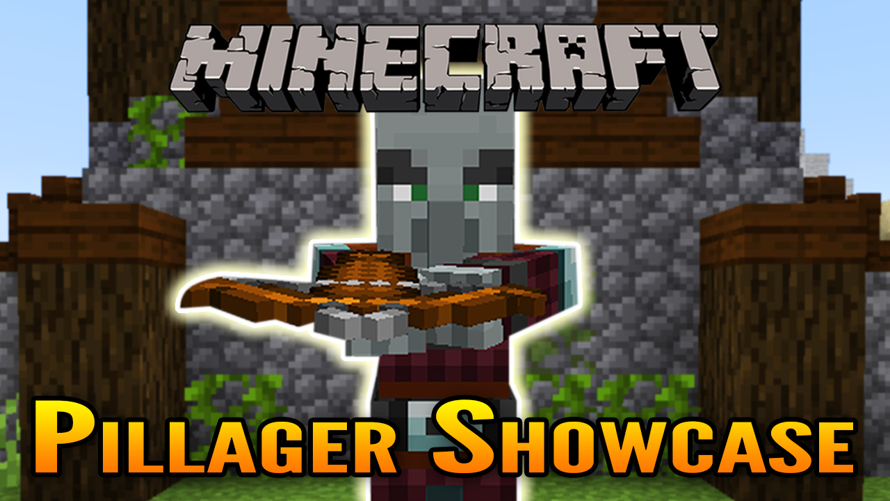 Minecraft 1 14 Pillager Showcase (Pillager Outposts and Illager