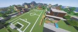 Fortnite's Pleasant Park Minecraft Map & Project