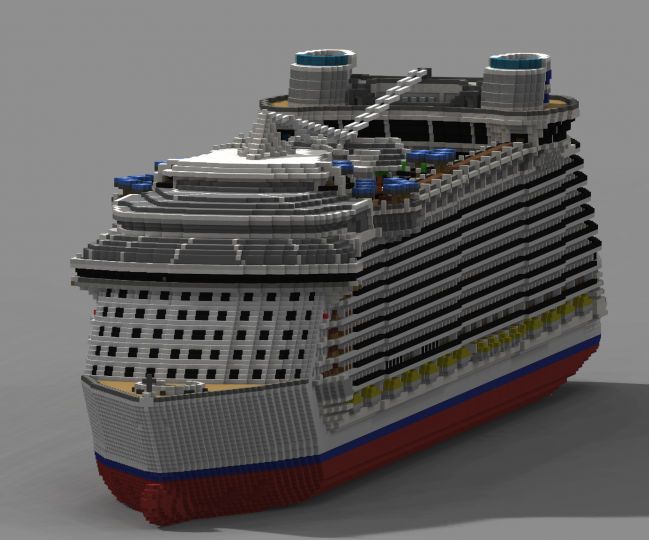 Render of the bow