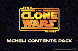 [MCHeli] Star Wars: The Clone Wars Contents Pack Minecraft Mod