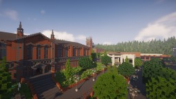 University Minecraft Map & Project