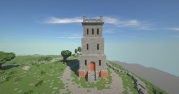 Slottsfjellet - My twist - Norway Minecraft Map & Project