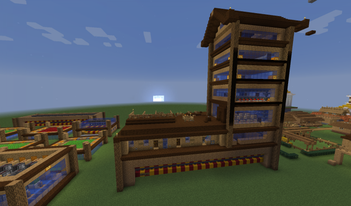 Basic Crops and Animal Farm Module mounted on Sorting System