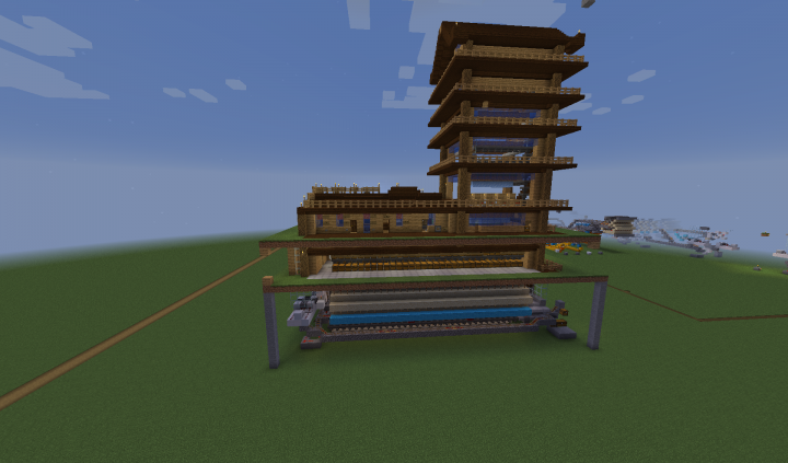 then mounted on Item Retieval System for Proof of Concept Test