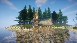 Fantasy Elven city-Teaser Minecraft Map & Project