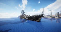 KMS Prinz Eugen (too wide and i made this a while ago but didnt post it until i did) Minecraft Map & Project