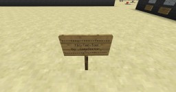 Redstone Tic-Tac-Toe Minecraft Map & Project