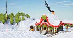 Woolcity Winter Free Build Minecraft Map & Project