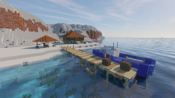 The diving club, hub of the adventure