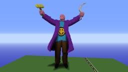 Vladimir Lenin Statue +download Minecraft Map & Project