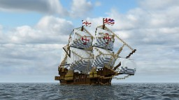 Golden Hind (3:1) Minecraft Map & Project