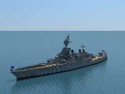 USS Maryland BB-46 Minecraft Map & Project