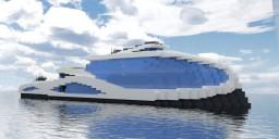 "Superyacht ""Blue Wind"" Minecraft Map & Project"