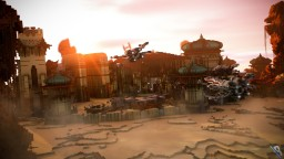 II Stars Wars Hub II Minecraft Map & Project